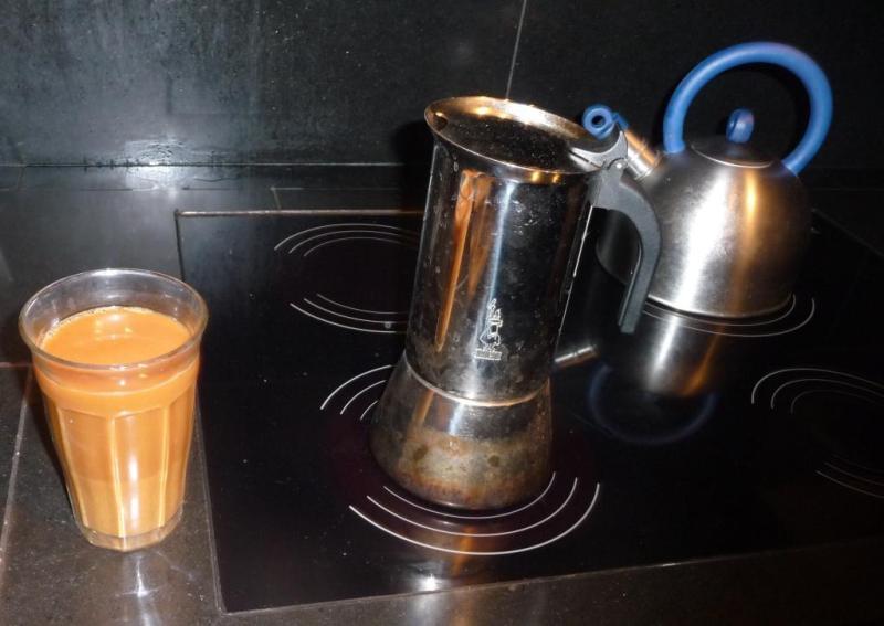 Första morgonkaffet
