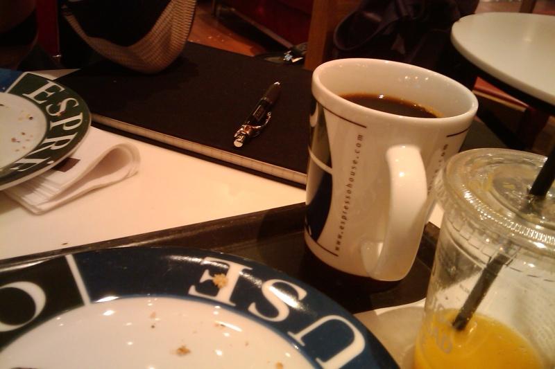 Tredje morgonkaffet